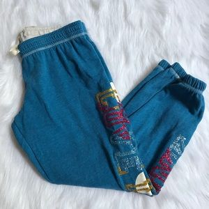 VS PINK CROPPED JOGGERS | Size XS